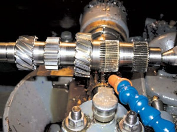 The 9310 Nickel G-Force countergears are machined from billet bar stock.