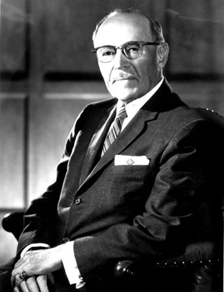 Louis Schwitzer, automotive pioneer and founder of the Schwitzer Corporation in Indianapolis, Indiana. (Courtesy BorgWarner Turbo Systems)