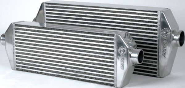 Vibrant Performance offers polished aftercoolers for engines of 350 to 875 hp. (Courtesy Vibrant Performance)