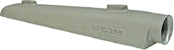 Spearco division of Turbonetics, as well as many others, offers aftercooler manifolds (sometimes called tanks) to fit various applications. They mate with heat-exchanger center sections for customized fits in unique applications where an off the shelf cooler may not be available. (Courtesy Turbonetics)
