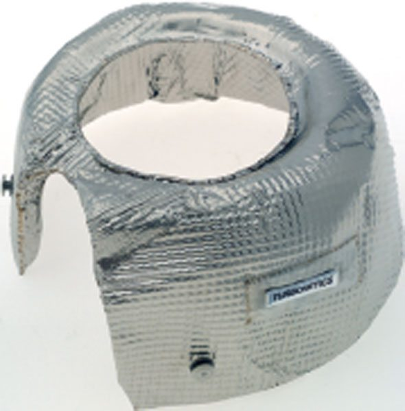 The primary purpose for heat shielding is to protect other underhood components from the heat of the turbine and extra manifolding involved in a turbo system. (Courtesy Turbonetics)