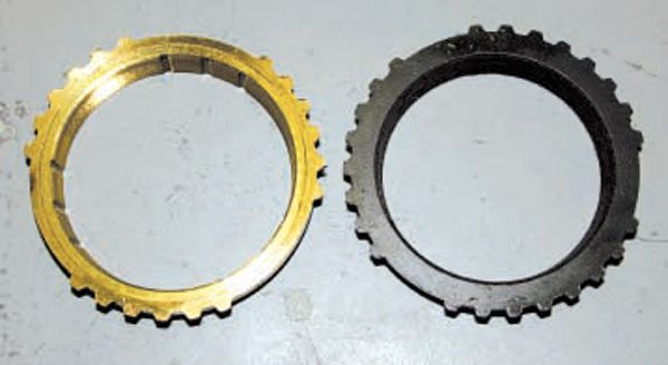 Both the NWC bronze ring (left) and the lined WC ring (right) shown here are 3-4 rings.