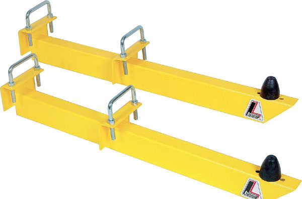 These are traditional budget-friendly bolt-on slapper bars. They do work as designed for eliminating wheel hop and bolstering the front half of the leaf spring to avoid spring wrap-up, but there are better ways.