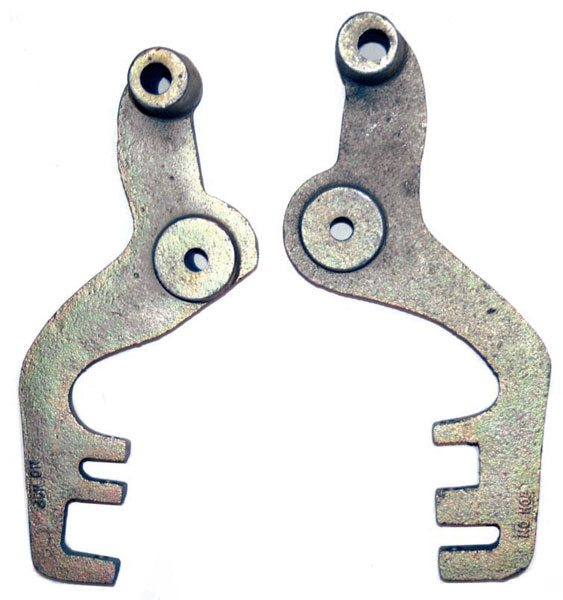 These no-hop bars were not designed well, and move the upper control arm too high compared to the stock location. Their quality was also relatively low, judging from the location of the holes through the casting. Avoid them.