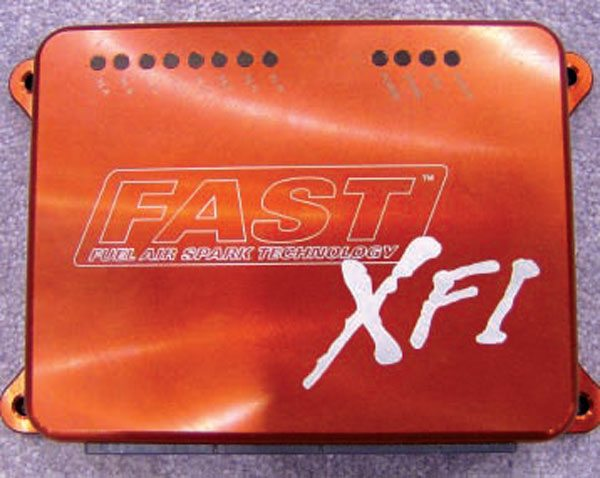 The XFI system from F.A.S.T. includes the PCM and a complete wiring harness. This makes for easy installation even where the vehicle harness is damaged or never existed in the first place.