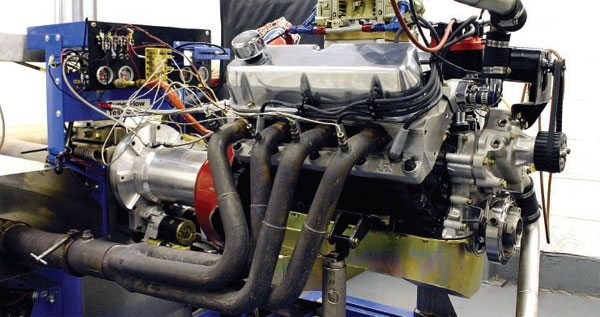 The engine dynamometer allows the tuner to focus strictly on the engine's performance, but tuning should always be double-checked in the vehicle. (Nate Tovey)