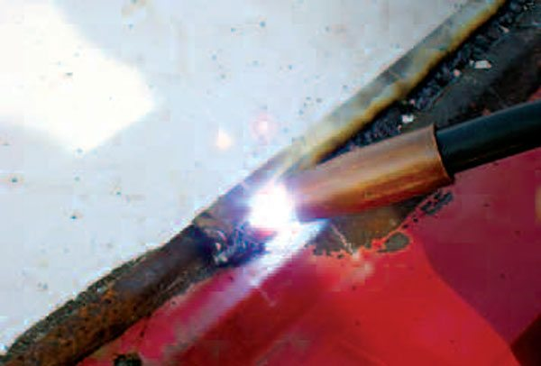 Thin panels are hard, presenting several problems in repair. It is easy to cut through, when welding them. Their hardness and thinness make them difficult to file because files skitter over them, rather than cut in. Worse, very little metal can be removed before they become dangerously thin.