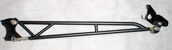An adjustable torque tube can be used to fine-tune the launch under the GM F-Body (Camaro/Firebird) cars that came with three-link rear suspension systems. The factory arm is relatively weak and non-adjustable. This adjustable aftermarket replacement is much stronger, so it won't flex under heavy loads.