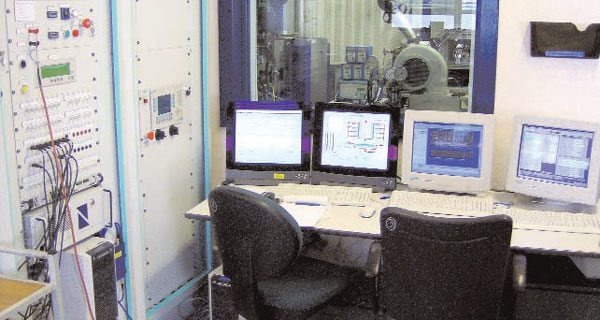 Most actual calibration work at the OEM level is done at engine dyno cells like the one shown here. Every possible engine parameter is carefully controlled and measured to ensure repeatability of the tests.