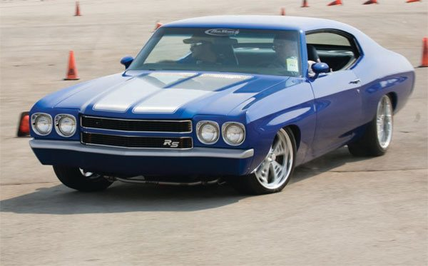 GM A-body muscle cars are abundant and come in a wide variety of shapes and sizes. They all share the same common flaws, but they can be vastly improved with the application of re-engineering and proper selection of aftermarket parts. Done properly, they can be amazing performance cars. (Photo Courtesy RideTech)