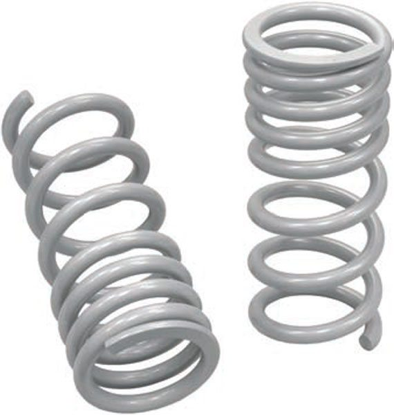 This is a progressive-rate coil spring. They're easy to identify due to the different spacing between the coils. Progressive-rate springs are generally reserved for certain specific applications. (Photo Courtesy Total Control Products)