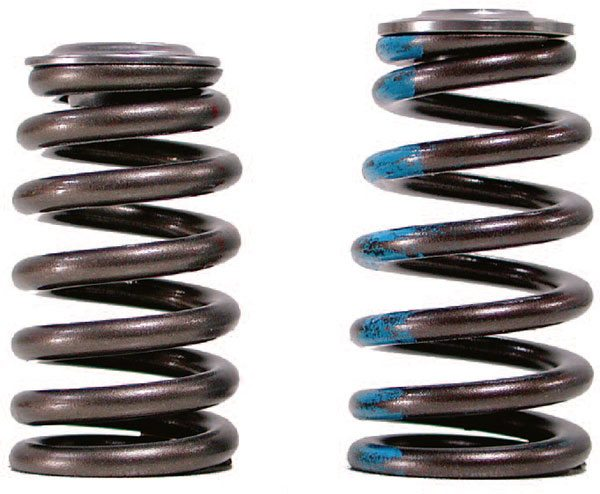 Shaft rockers like these from Comp Cams are pre¬ferred for serious high-speed valvetrains. Shaft setups anchor the rocker arms more securely and pro¬vide added stabil¬ity that translates to more accurate valve timing.