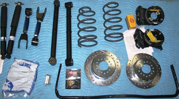Never lose sight of the big picture. This package includes a factory-format 1-inch rear bar. It's not the best technical choice, but it is an economical one, which leaves more budget to spend on shocks, brakes, trailing arms, etc. You have to pick your battles, and it's better to have a whole package that's good, rather than one or two great parts and the rest still worn-out stock parts.