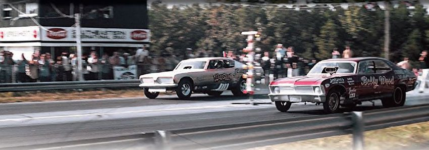 One of Georgia's first drag strips, Southeastern International Dragway, had a prime location—it was accessible by the Chattanooga crowd and also very close to Atlanta. The track opened in 1955, and grew into a major destination by the late 1960s and early 1970s, with big events on a regular basis. (Photo Courtesy Fred Simmons)