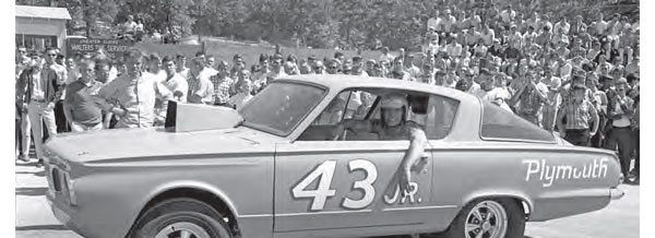 After Petty's unfortunate accident at Southeastern International Dragway in February 1965, he had mixed emotions about getting back into the drag racing world. He quickly rebounded and built this car to fulfill prior match race commitments, after burying the Outlawed car behind his shop. Petty's drag racing career ended when NASCAR lifted the Hemi ban later in 1965. (Photo Courtesy Blue Ridge Institute & Museum of Ferrum College)