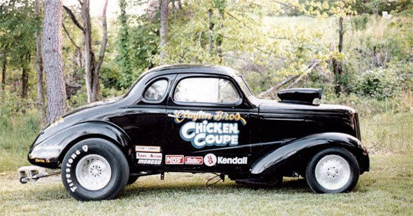 As the Gas classes evolved, and other class structures formed, cars began to change dramatically. Gone were the days of straight-axle front suspension and a high center of gravity. By the mid 1970s, cars such as the Chicken Coupe raced in Gas classes but had different characteristics than cars of years prior.