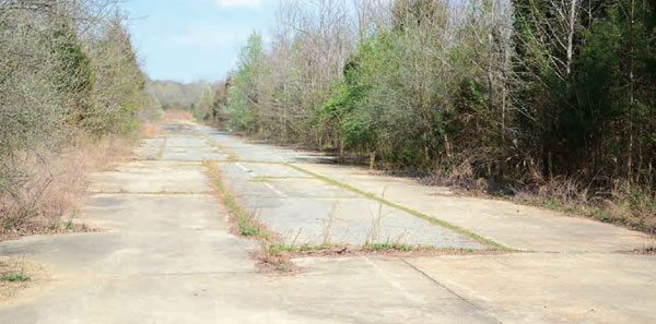 The remains of Shuffletown Dragway are accessible to the public, with the old strip now adjacent to a public park. The track can be seen from Bellhaven Boulevard, but most of it is drastically overgrown. Part of the parking and pit area are still visible, and some staging lane markers can still be seen on the pavement.