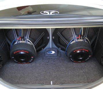 Go big or go home, right? An audio system with thousands of watts of power, such as this one, requires substantial upgrades to a charging system to supply it with power.