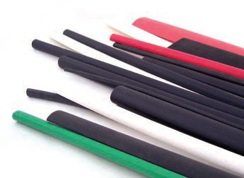 Heat shrink tubing is certainly handy. It comes in sizes from 1/8 inch to more than 3 inches in diameter. I use it for all kinds of stuff, so I keep plenty of it on hand in all different colors.