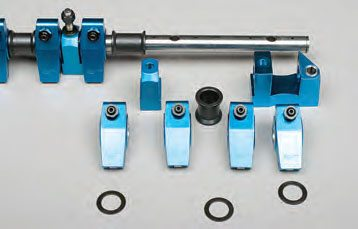 Rockers that feature a full-length common shaft mount are often adjustable, allowing you to fine-tune each rocker's location for proper valve alignment.