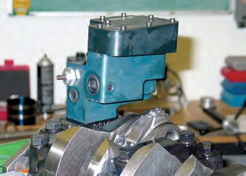 The big advantage of the billet pumps is the elimination of a separate pickup, so pickup tube damage such as loosening or cracking due to engine vibration is eliminated.