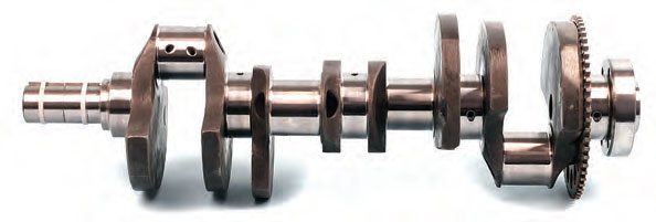 While a new aftermarket crankshaft may be nearzero balanced at the factory, this provides only a starting point. Consider the mass of everything hung onto the crank: rods, rod bearings, pistons, wrist pins, pin locks, and piston ring package. Any crank must be balanced with rotating and reciprocating weight to create a balanced assembly package. Regardless of crank origin (OEM or aftermarket, new or used), the entire rotating/reciprocating package must be balanced. If at any point you change any of the mass-weight components from a previously running engine (such as pistons or rods), the crank must be rebalanced.