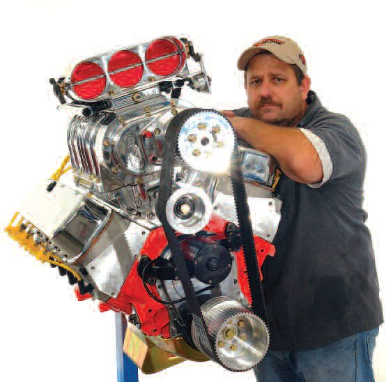 Cup Car engine builder Billy Fisher put together this 582-ci big-block Chevy. It features a traditional BDS Roots-style blower system paired with fuel injection. Power potential, even in streetable form, with good heads and valvetrain, is 1,250 hp along with a high intimidation factor.