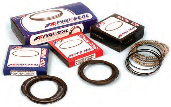 High-quality performance ring packages are available from the major suppliers. Some high-performance piston manufacturers supply the correct rings (per application) with their pistons.