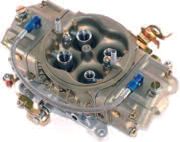 A blow-through carb from The Carb Shop in Ontario, California, seems to be a very popular move. Recommended by many supercharger companies, this carb, in single or dual form, can help deliver as much as 1,800 hp.