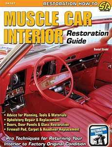 how to restore repair muscle car upholstery. Black Bedroom Furniture Sets. Home Design Ideas