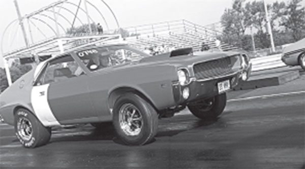 Though adorned in period race graphics, the 1969 Hurst-modifi ed S/S AMX was a blank canvass in many ways.