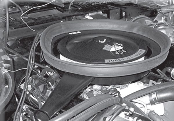 All hail the mighty 454, available in two fl avors for 1970 Chevelle Super Sport applications. Which version was most popular?