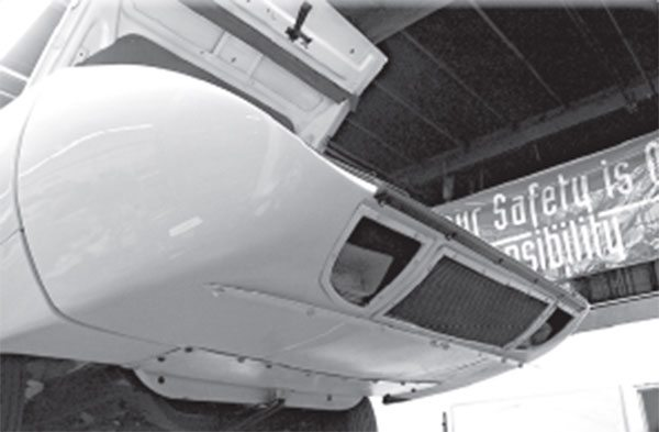 The 1970 Superbird nose cone wasn't installed at Lynch Road. So where was it installed?