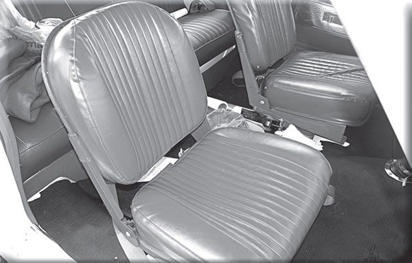 Far lighter than typical Ford bucket seats, can you name the factory drag package that made use of these incredibly rare hinged seats to pare nearly 700 pounds?