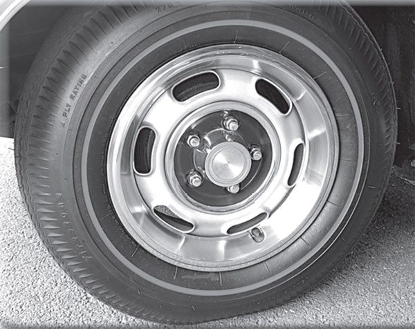 This 14-inch Rally I GTO wheel is popular, but when did 15-inch rims join the GTO option sheet?