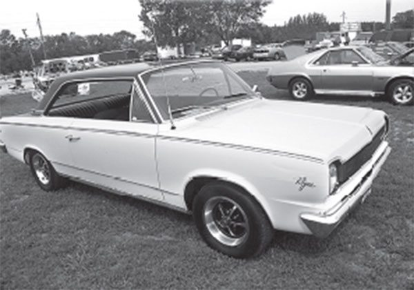 Forget the incorrect later wheels, this 19661 ⁄2 Rogue lit the fuse on AMC's high-performance reawakening