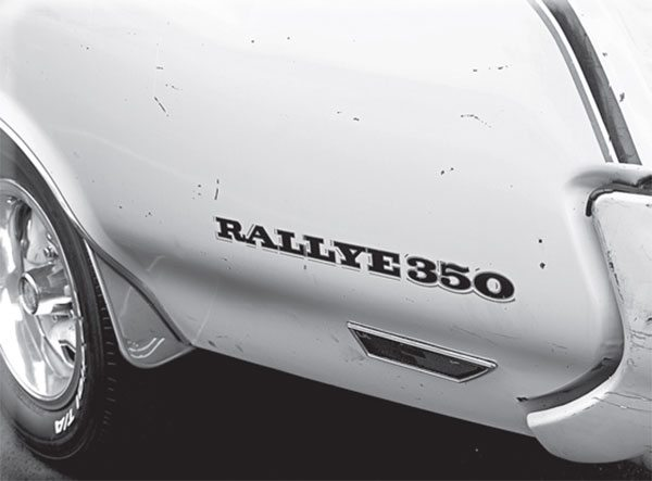 As with Henry's early Model Ts, don't ask for any color other than Sebring Yellow! Scuffs and scrapes don't detract from this 1970 Olds Rallye 350 survivor's charm.