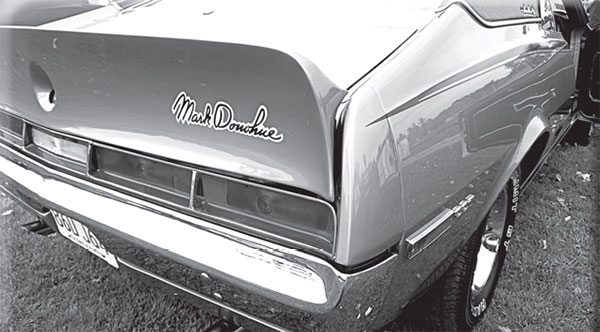 Homologation has nothing to do with the dairy industry but everything to do with this Javelin's sleek trunk spoiler.