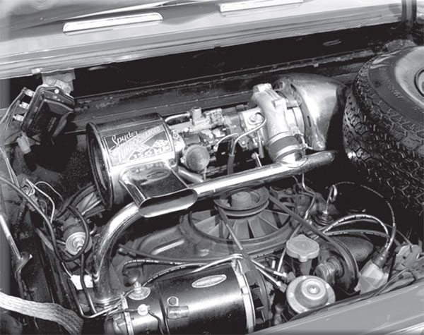 The hottest Corvair engine also had the least exciting carburetor, a 1-barrel. Did you know every non-turbocharged Corvair had at least two, and as many as four carburetors?