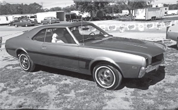 Despite its humble 232 inline six, this base Javelin shares major parts with the sexy AMX.