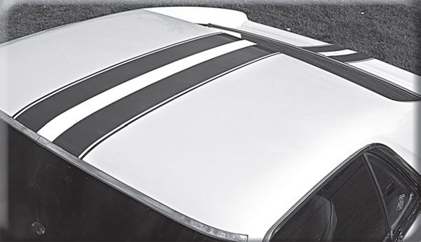 If you see these stripes, be sure you're packing some muscle or you might see AMC taillights.