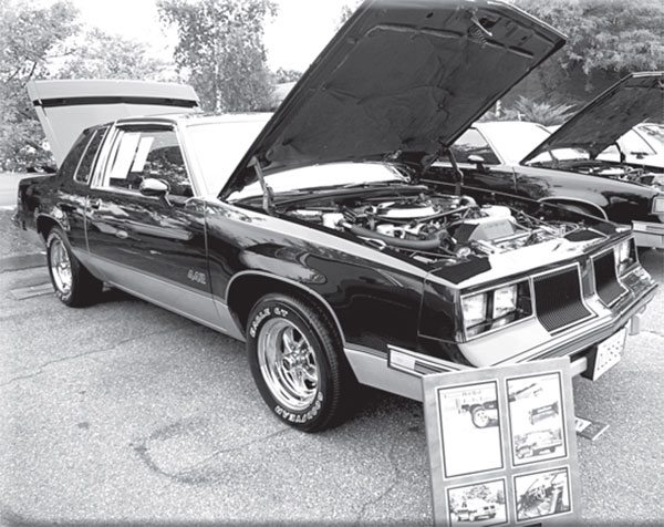 This 1986 4-4-2 shares a critical driveline part with the Buick Grand National, but not the similar Monte Carlo SS. What is it?
