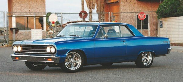 Fig. 5.4. This is Keith Kanak's super-clean 1964 Chevelle. He has driven it on numerous Hot Rod Power Tours. It has a 383-ci Beck Racing Engines small-block Chevy backed by a Tremec 5-speed transmission. (Photo Courtesy Keith Kanak)
