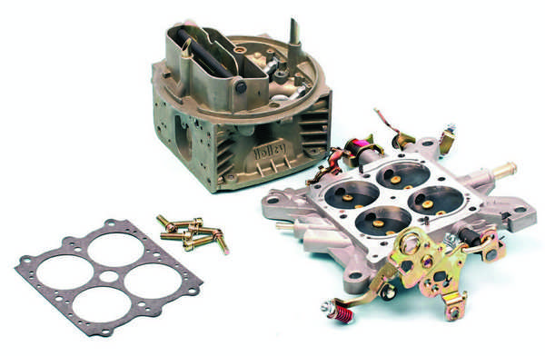 On a clean workspace, begin assembly with the clean main body and throttle body.