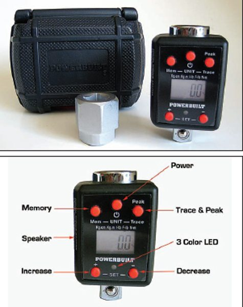 Keep your torque wrench in perfect calibration with Powerbuilt's inexpensive digital torque converter.