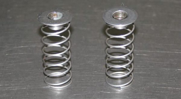 Light tension checking springs allow you to assemble valves in a cylinder head to check valve-to-piston clearance without having to compress the heavier valvesprings. They are also handy for holding the valves closed while cc'ing ports and combustion chambers.