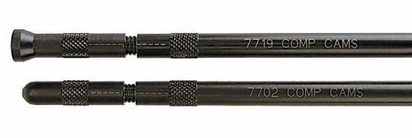 Adjustable pushrods are perfect for determining the ideal pushrod length. Dial in your rocker arm geometry, then order pushrods to the exact indicated length.