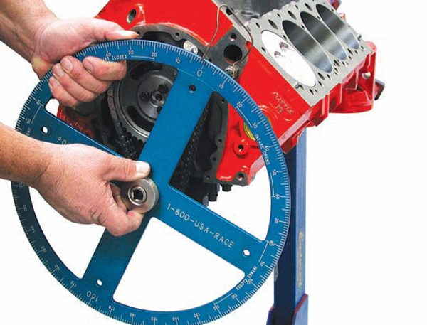 A larger-diameter degree wheel typically yields more precise measurements. Degree markings are spaced farther apart and they are easier to read.