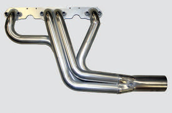 Equal length 4-into-1–style headers consistently outperform all other types, particularly when primary pipe crosssectional area is well matched to engine displacement and VE at torque peak RPM.