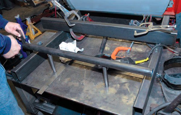One advantage of a steel welding table is that you can weld pieces to the table to make a jig to hold your work in place. You can even weld your workpiece to the table and cut it loose later.